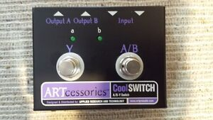 A/B/Y SWITCH BOX for amp/guitars
