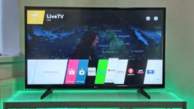 """43"""" 4K UHD SMART LG 43UF640V LED TV WITH REMOTE, INBUILT WIFI, APPS"""