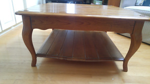Solid Maple  Canadian Made  Large Coffee Table
