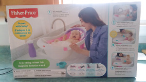 New in box baby tub