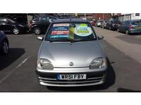 2001 FIAT SEICENTO 1.1i SX From GBP1,195 + Retail Package