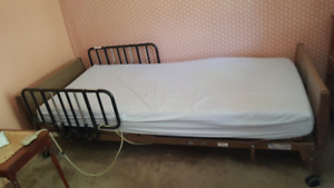 Hospital bed, Invacare model: 5000ivc