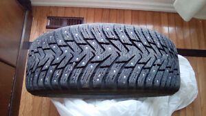 Hakkapeliitta 8 SUV 225/55R18 102T XL studded winter tires