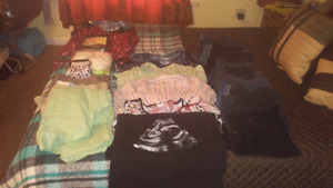 Assorted maternity clothes mostly m_L