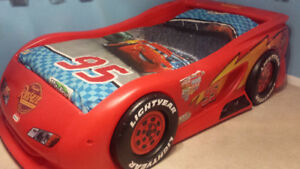 Cars Twin bed Lightning McQueen! Excellent condition $175
