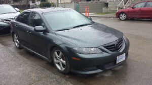 2005 Mazda 6 Sport turbo sport sun roof leather subwoofers