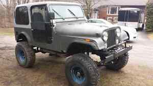 Jeep sell or trade for dirt bike