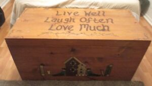 HAND CRAFTED CHEST