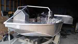 Outboard River Boat