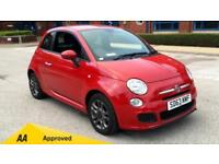 2013 Fiat 500 1.2 S with Bluetooth Air-Con Manual Petrol Hatchback