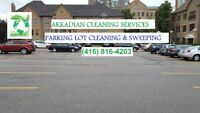 PARKING LOT CLEANING & SWEEPING SERVICES
