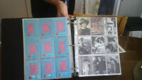 2 albums de cartes de collection d'Elvis Presley