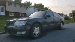 RARE!!! 2000 Lexus LS400 GOOD SHAPE FOR THE YEAR!.