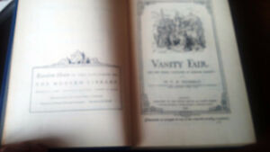 Vanity Fair A Novel Without A Hero, W.M. Thackery, 1946 Kitchener / Waterloo Kitchener Area image 2