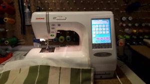 Janome 10,001 sewing Embroidery machine
