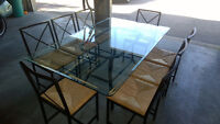Kitchen or Dining set 8 chairs