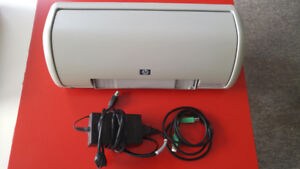 HP Colour Inkjet Printer with USB cable