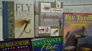Books & Magazines on Fly Tying