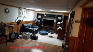 2 bedroom  basement apartment, St Catharines