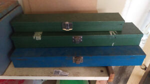 MINT VINTAGE US PRO SK TOOLS Metal Socket Tool Box Storage