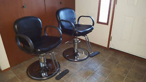 two Stylist Chairs