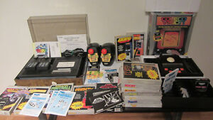Colecovision Game System/Controllers + games