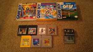Gameboy and GBA Games