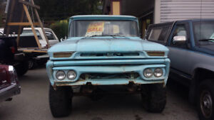1962 GMC pickup & Variety of others for sale!