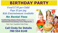 Private Kid's Party