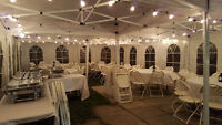 NO HST - GTA Party Rental - Tables Chairs Tents
