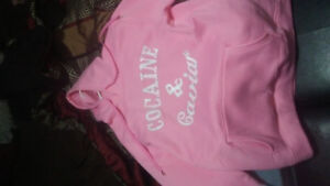 Cocaine and cavier hoodie BRAND NEW size womens XL