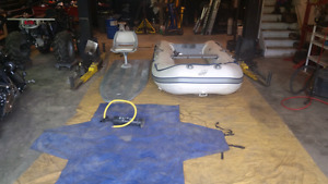 12 ft Mercury inflatable boat