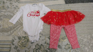 6 month xmas outfit