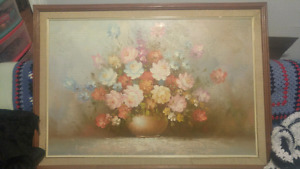 Antique Painting By Robert Hansen