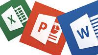 Tutorat - Word & Excel & Powerpoint & Photoshop