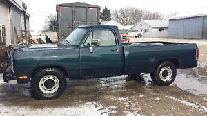 1993 Dodge Power Ram 2500 Pickup Truck