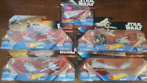 Star Wars Hot Wheels Diecast Ships