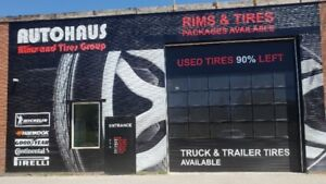 USED TIRES in BRAMPTON TYPE A 90-95%TREAD LEFT CALL 905-454-6695