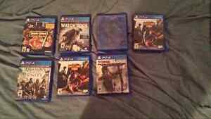 PS4 GAMES AND ACCESSORIES