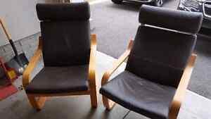 IKEA - Set of 2 Poang armchairs