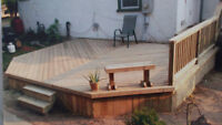 Carpenter needed.Decks and renovations. Booking now for spring!!