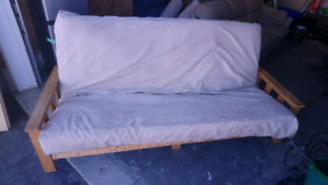 Futon and Foam mattress **FREE delivery**