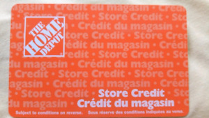 Home Depot Store Credit $1000