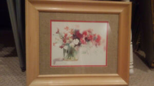 Wall picture frame (Flower design)