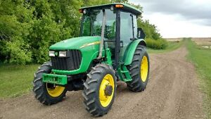 John Deere 5625 with JD 542 FEL
