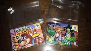 Banjo kazooie & Banjo Tooie for N64