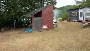 Lake front camp for sale at the oldmill campground $10000