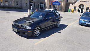 BMW M3 E46 CONVERTABLE 6 SPEED MANUAL