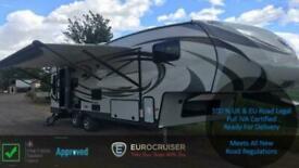 2015 Eurocruiser 845 ELITE Fifthwheel American Caravan RV Touring 5th wheel