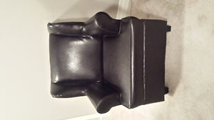 Kids Faux Leather Chair
